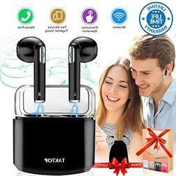 Wireless Earbuds Stereo Bluetooth Headphones Charging Case M