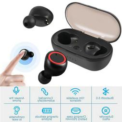 wireless earbuds waterproof charge case bluetooth 5