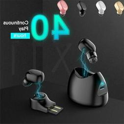 Mini Wireless True Bluetooth 4.1 Earbuds Stereo Earphone In-