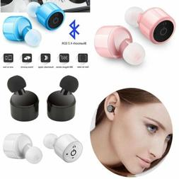 Wireless Mini True Bluetooth Twins Stereo In-Ear Headset Ear
